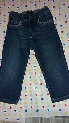 Boys Age 12-18 Months Hugo Boss Worn Look Slim Fit Jeans