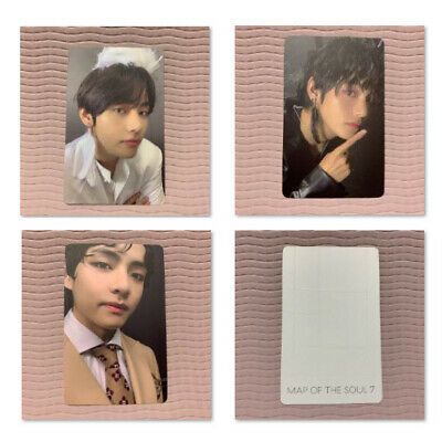 BTS V Official PHOTOCARD Only Bangtan Boys MAP OF THE SOUL:7 Photo Card Taehyung