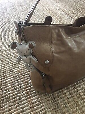 Il Tutto Large Nappy Bag Tan Leather