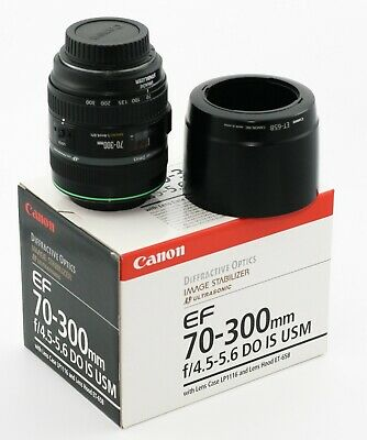 Canon EF 70-300mm f/4.5-5.6 IS USM DO Lens - Mint Cond - 1 owner