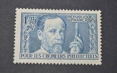 TIMBRE FRANCE N°385 PASTEURNEUF* Cote YT 20 €