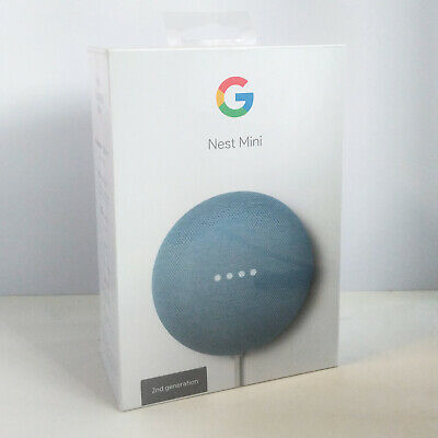 Google Nest Mini - sky blue