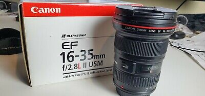 Canon EF 16-35mm f/2.8 L II USM Lens - Good Condition - Works Perfectly