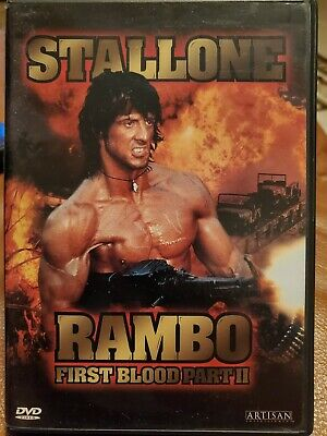 Rambo 2 First Blood Part II SYLVESTER STALLONE Brand New Sealed DVD 1998