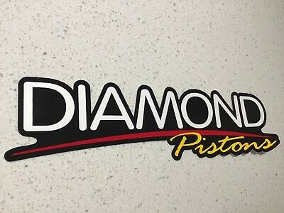 Racing Pistons Sticker,Motor Cars Drag Drift V8 Supercars Nascar Springs Oils