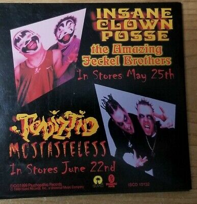 Insane Clown Posse / Twiztid ‎ Phat Or Wack? CD Sampler