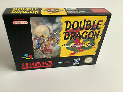 Double Dragon V The Shadow Falls Super Nintendo /Snes Pal OVP Boxed Sehr Gut VGC