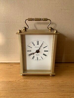CARRIAGE CLOCK Brass Quartz