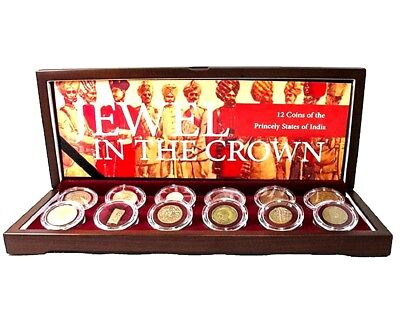Jewel in the Crown:12 Coins of the Princely States of India,Boxed,Certificate