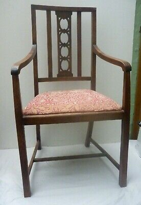 Arts & Crafts Oak Chair