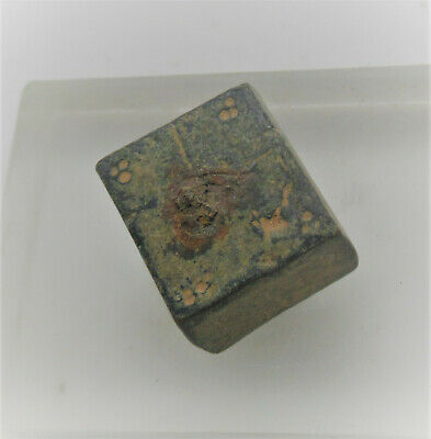 Late Roman Period Bronze Gaming Token Astragalus