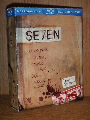 bluray comme neuf - COFFRET COMPLET SEVEN