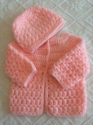 Crochet Baby Jacket And Hat