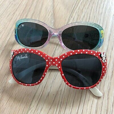 2 X Girls Disney Frozen And Minnie Mouse Sunglasses