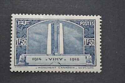 """FRANCE TIMBRE N° 317 """" VIMY NEUF* cote YT 18 €"""