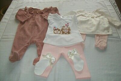 Baby girl clothes small bundle Next/Mothercare/Mayoral/Ted Baker aged 0-3 months