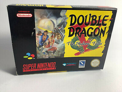Double Dragon The Shadow Falls Super Nintendo /Snes Pal OVP Boxed Sehr Gut VGC