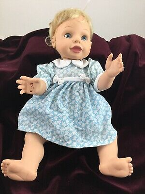 Amazing Babies Doll Interactive Sound Movement Works Blonde Playmates 2000