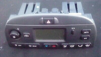 Jaguar X Type Climate Control Heater Control Display Unit Air Con Switches