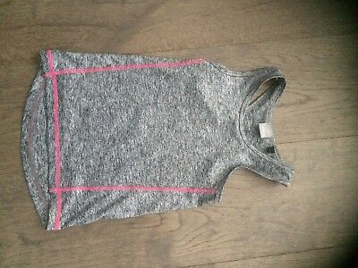 Girls, Next, Grey Vest Top, Sports Vest, 4 Years, Worn Once, Pick up or Post.