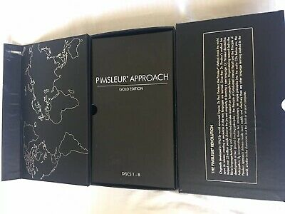 Pimsleur Approach ITALIAN I Gold Edition 16 CDs 30 Lessons Language Instruction