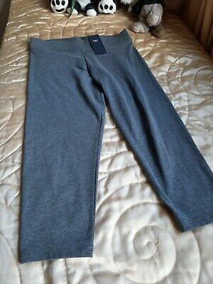 Marks & Spencer Collection cropped grey leggings Size 8 New with Tags