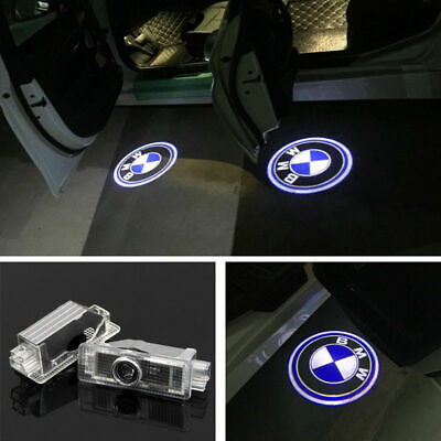 2X LED Laser Welcome Projector Logo Ghost Shadow Car Door Lights Lamps For BMW