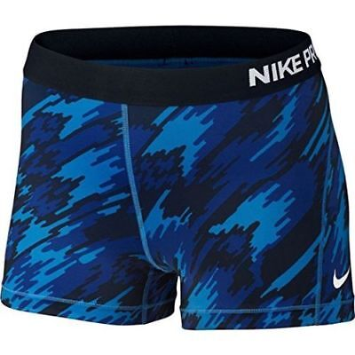 New Nike Pro Women's sport shorts Size L /Hypercool Frequency/stretchy/yoga