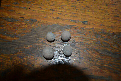 Vintage Ancient Stone Antiquities Gaming Balls Pre Columbian