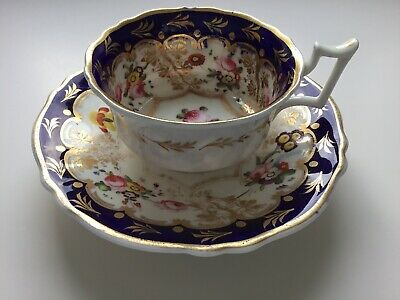 Antique Cup And Saucer Unmarked? Spode