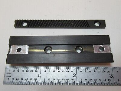 Spencer Ao American Optics Brass Dovetail Microscope Part As Pictured #Ft-5-21