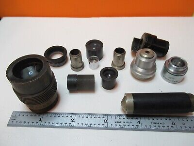 For Parts Assorted Bausch Leitz Zeiss  Microscope Part As Pictured #Ft-5-01
