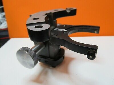 Ao Spencer American Optics Condenser Holder Microscope Part As Pictured #Ft-5-02