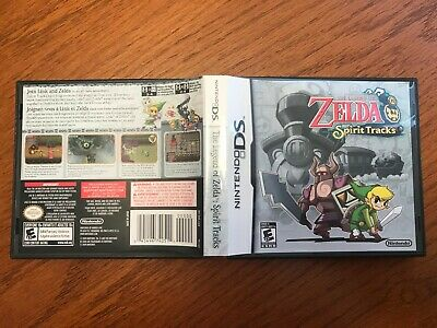 The Legend of Zelda Spirit Tracks DS. Complete game/case/manual. US/Canada.