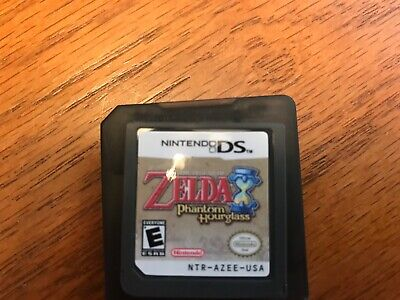 The Legend of Zelda: Phantom Hourglass DS. Game and game holder. US/Canada.