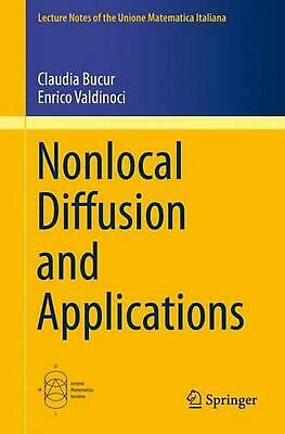 Nonlocal Diffusion and Applications by Claudia Bucur (English) Paperback Book Fr