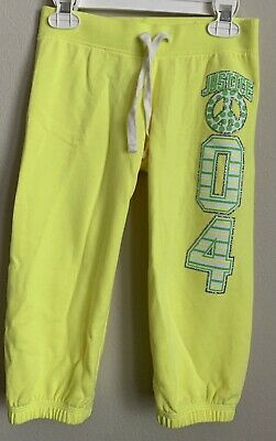 Justice Girls Size 7 Cropped Sweatpants