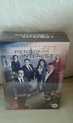 Person Of Interest Seasons 1-5 Complete Dvd Box Set. New & Sealed. Tv Series