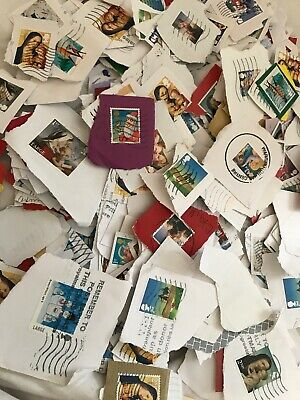 100g 1st And 2nd Class Xmas Non Security On Paper Used Postage Stamps GB