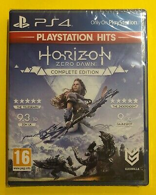 Horizon: Zero Dawn - Complete Edition (PS4, 2019) - BRAND NEW & SEALED
