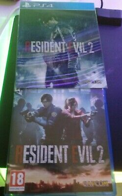 Resident Evil 2 Edition lenticulaire collector Jeu Playstation 4 PS4 comme neuf