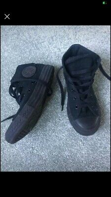 converse Size 13 Black High Tops