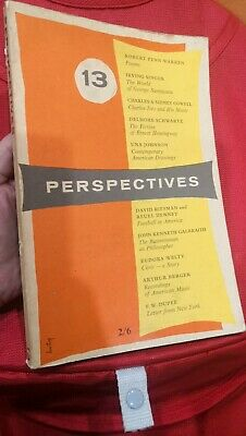 Perspectives  Number Thirteen Year 1955 Book
