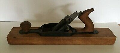 Antique Stanley Bailey No. 28 Transitional Wood Plane