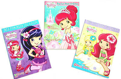 Strawberry Shortcake ~Coloring & Activity Book Set~
