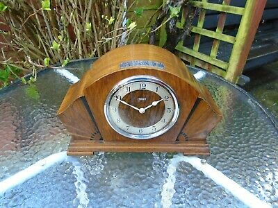 Garrard / Smith Rare Synchronous Electric Fully Restored Westminster Chime Clock