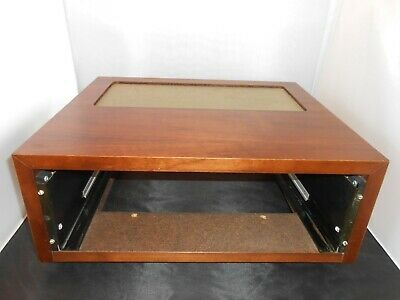 McIntosh Vintage Wood Cabinet with panlocks large fits Amplifiers Excellent
