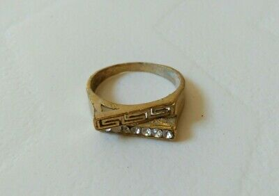 Rare Ancient Roman Old Ring Bronze Artifact Museum Quality
