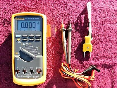 Fluke 87V *Mint!* True Rms Industrial Multimeter!