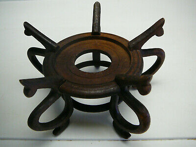 Very fine old Chinese wood wooden stand for your porcelain vase bowl or plate